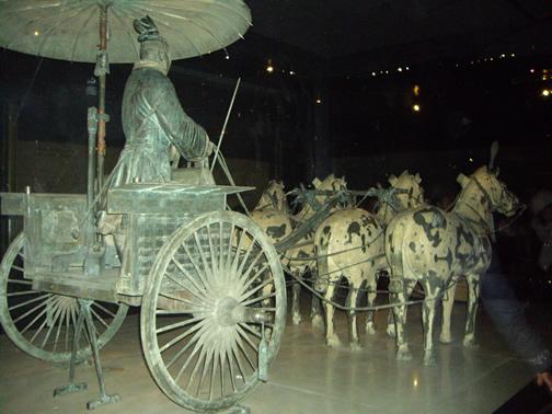 warrior chariot (bronze)