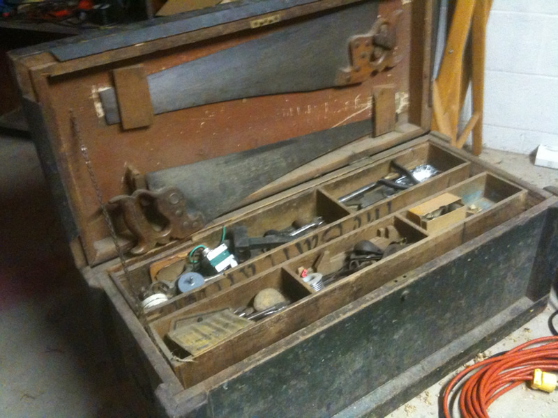 A plans woodwork: Wooden tool chest with drawers plans